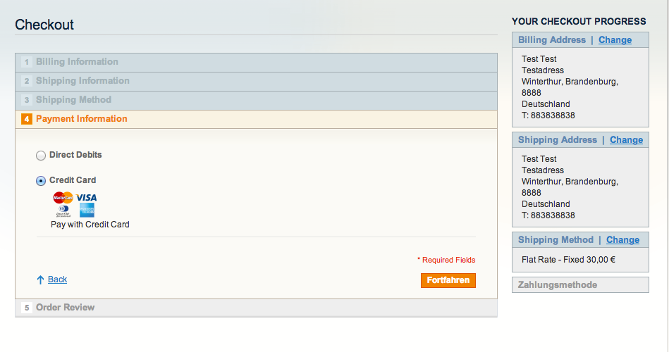 how to add custom fields in magento payment module