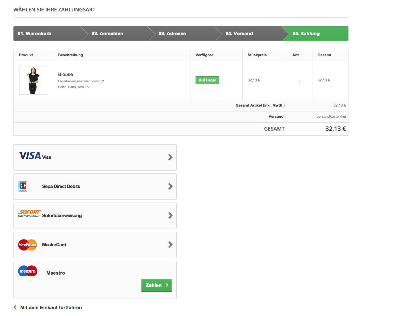 customweb GmbH - PrestaShop Open Payment Platform Payment Module