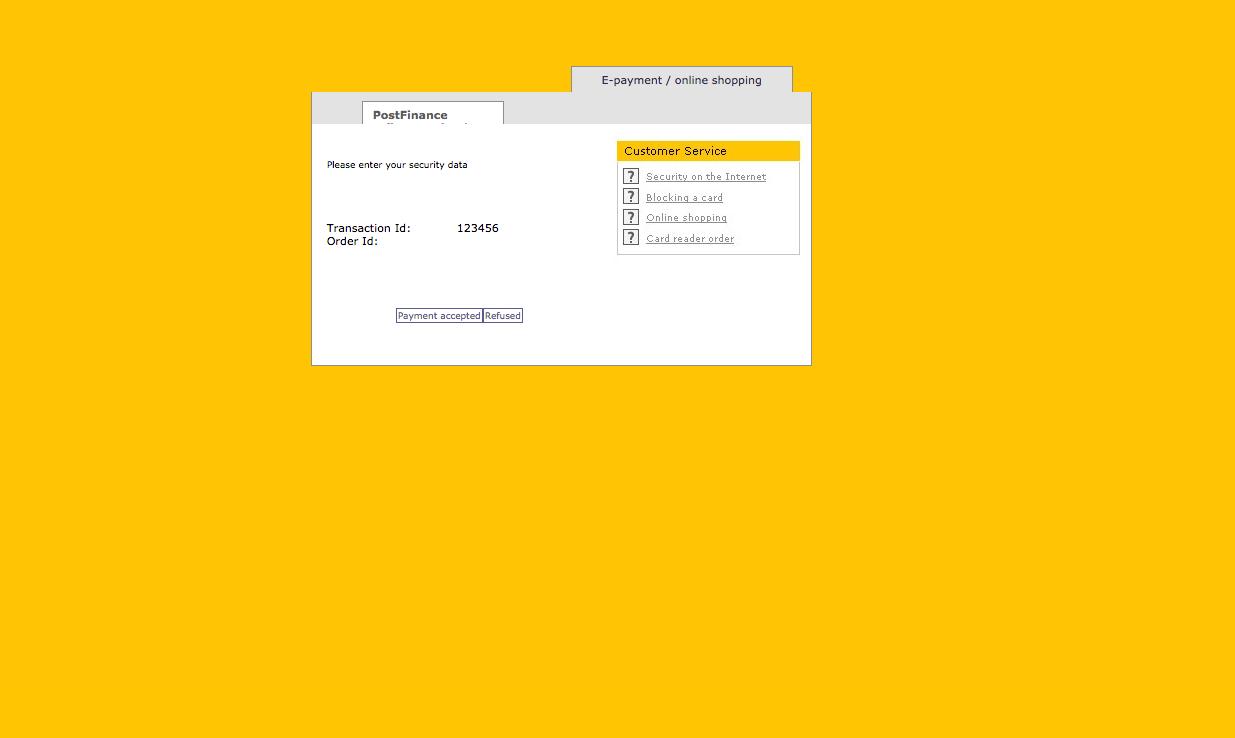 customweb GmbH - WordPress WooCommerce PostFinance Payment