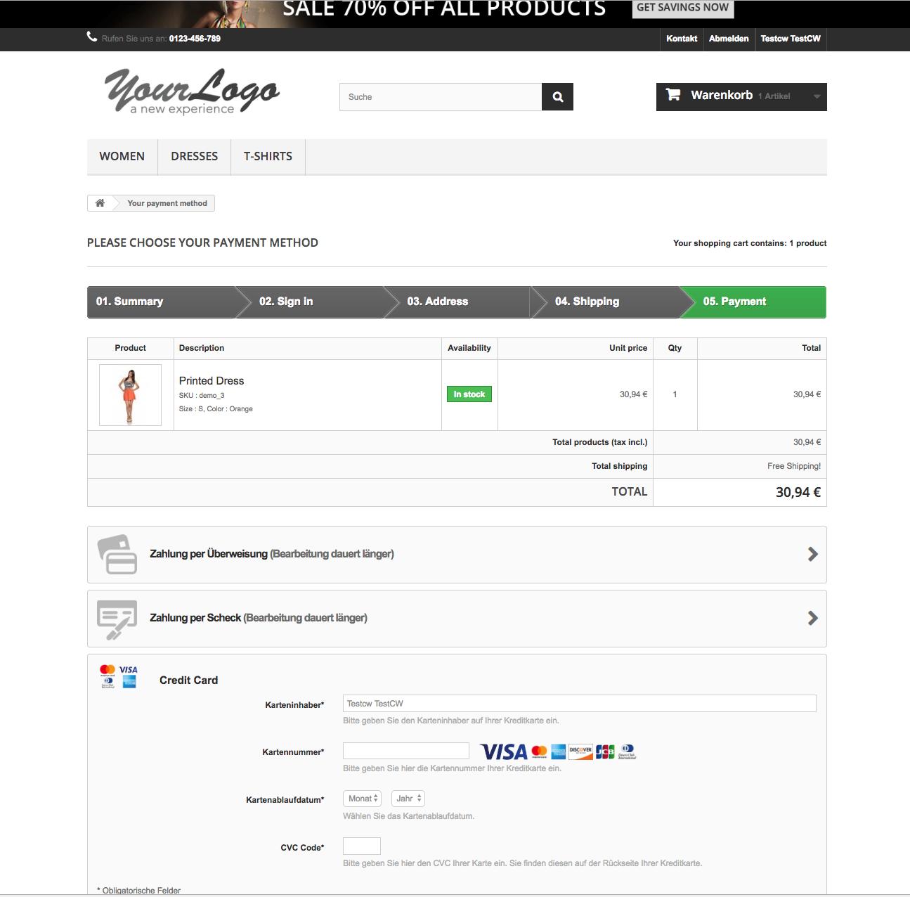 customweb GmbH - PrestaShop Stripe Payment Module