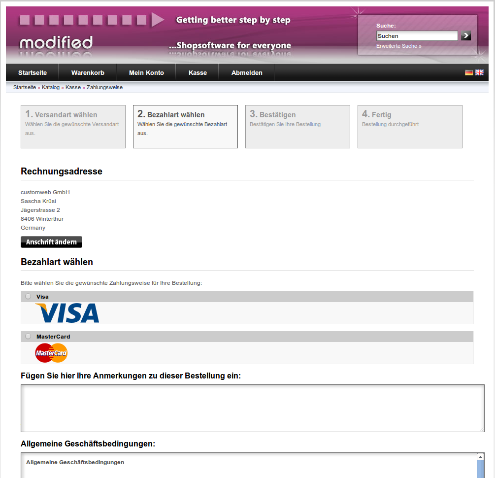 customweb gmbh modified shop barclaycard epdq payment module. Black Bedroom Furniture Sets. Home Design Ideas