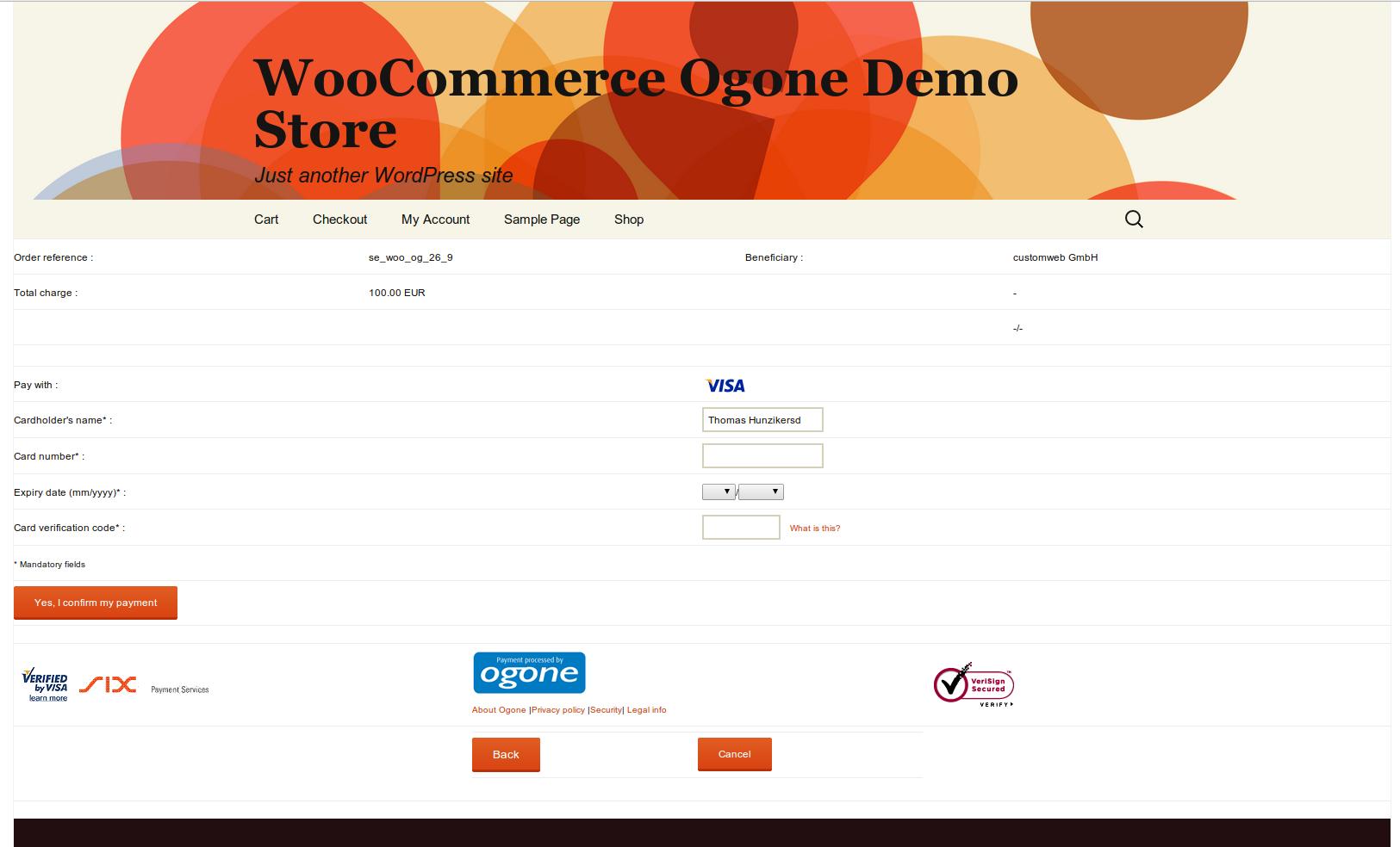 Carte Bleue Woocommerce.Customweb Gmbh Wordpress Woocommerce Kbc Paypage Payment Plugin