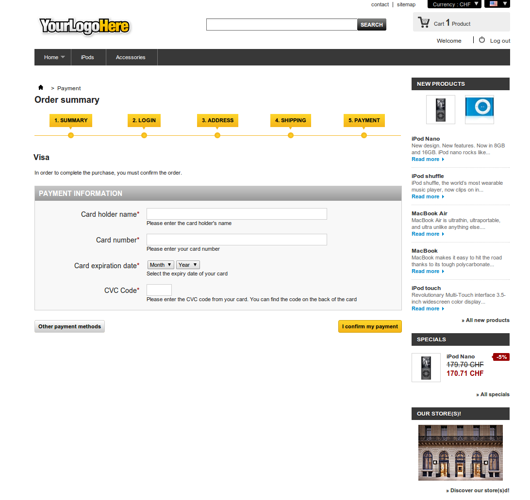 customweb gmbh prestashop viveum module de paiement. Black Bedroom Furniture Sets. Home Design Ideas