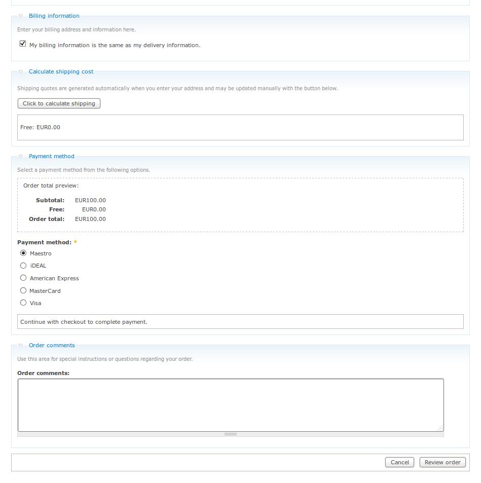 customweb gmbh ubercart 2 x payfort payment module
