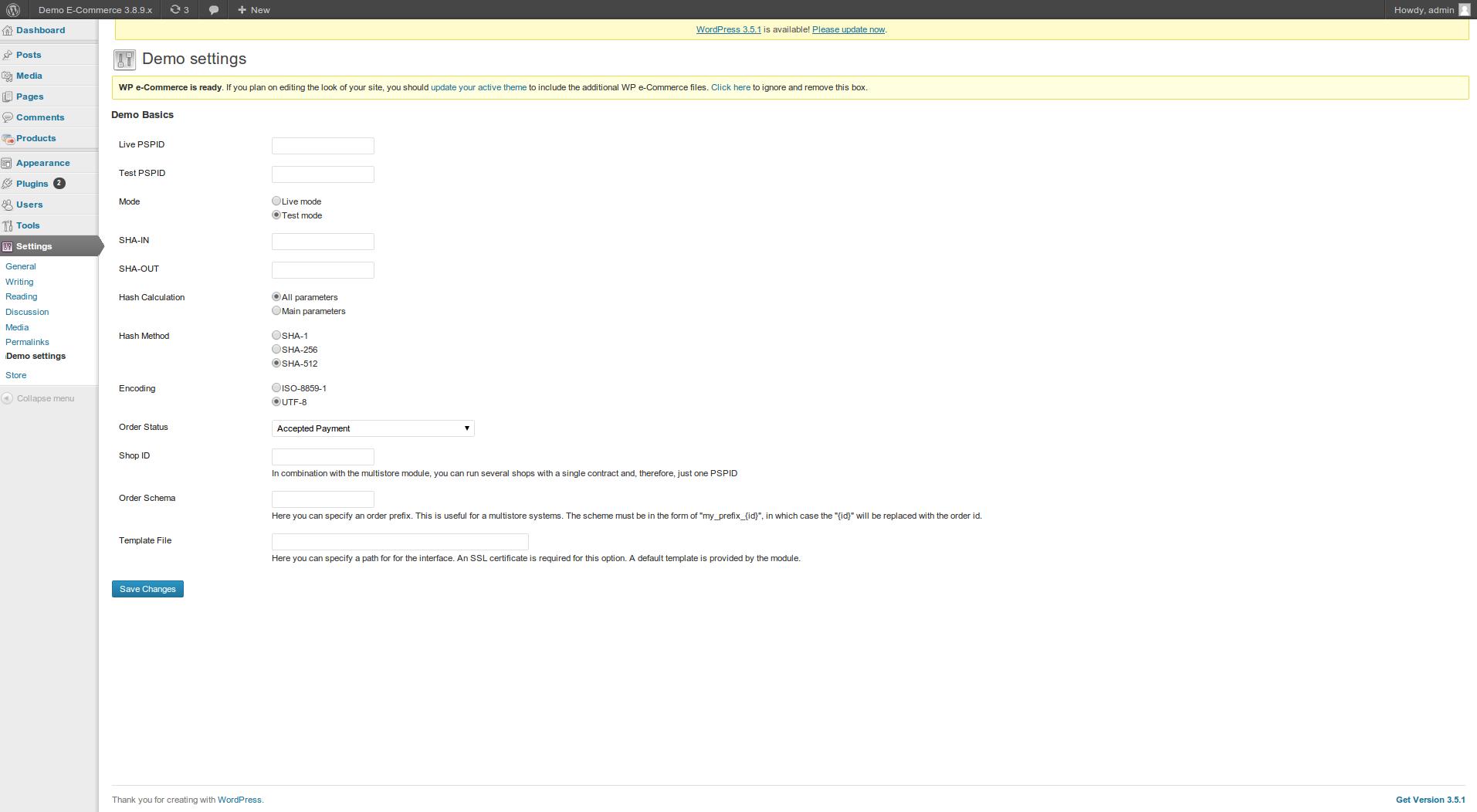 customweb GmbH - WordPress E-Commerce Ingenico (Ogone
