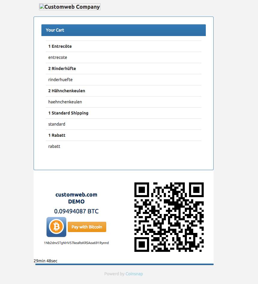 bitcoin akzeptieren